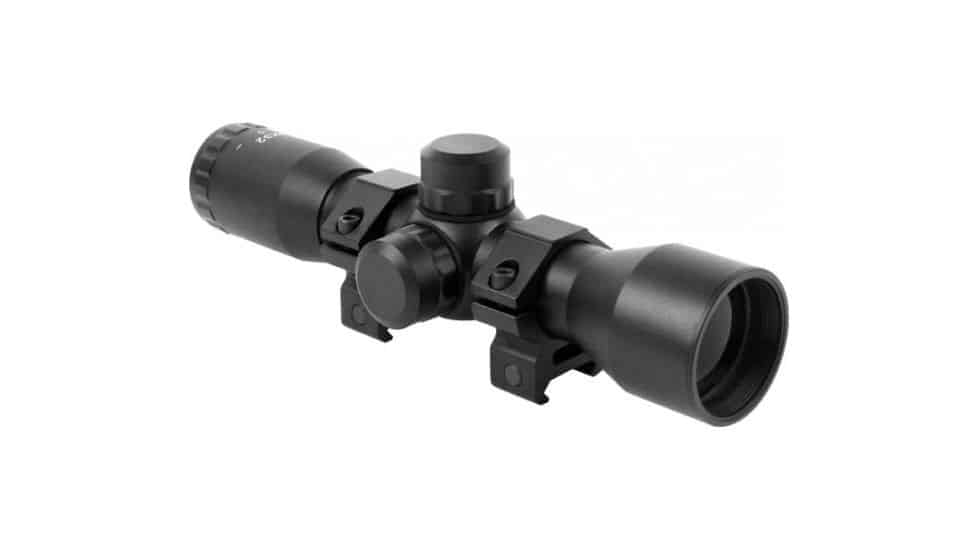 AIM Sports 4x32 Compact Rifle Scope