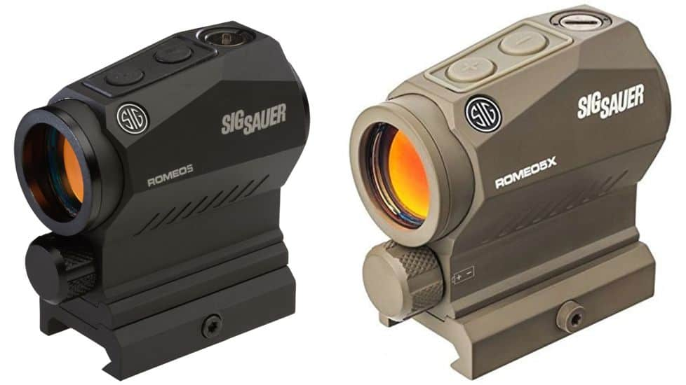 Sig Sauer ROMEO5 1x20mm Red Dot Sight