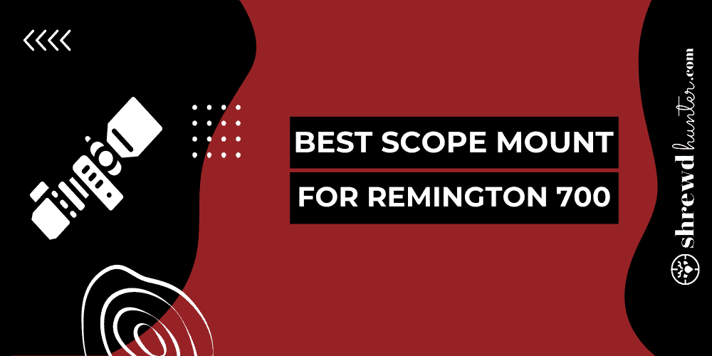 best scope mount for remington 700