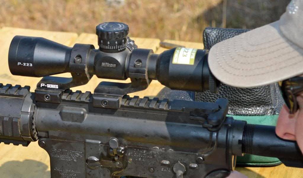Mounting a Nikon BDC scope