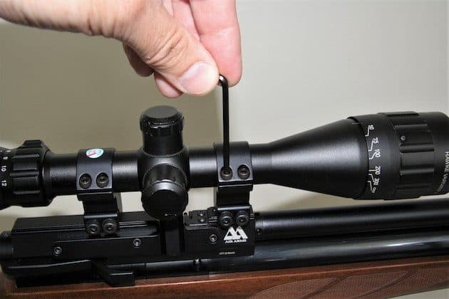 Setting the Zero on a scope