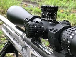 Sighting in Nikon BDC scope