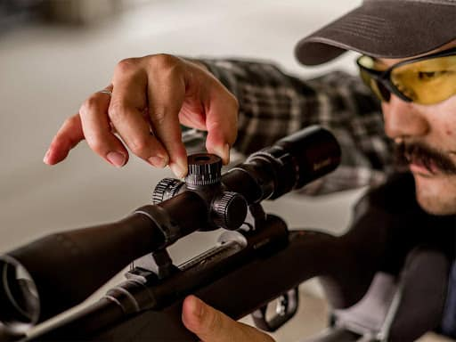 optimum number of times to sight your scope