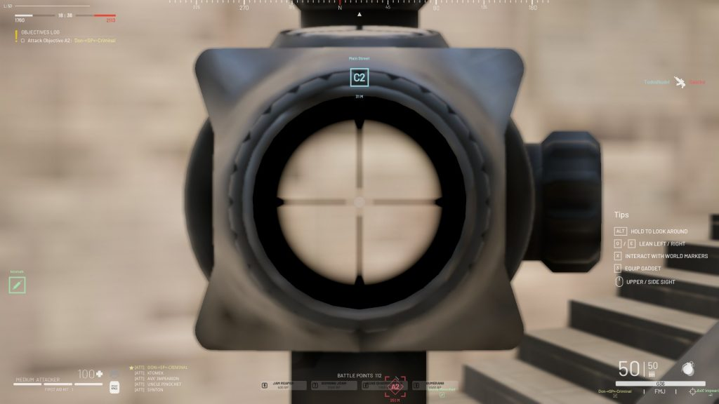 How to solve a blurry scope issue